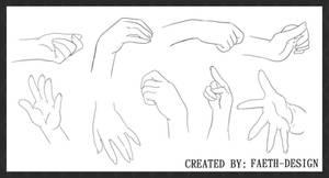 Manga Hands by Faeth-design