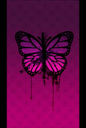 Pink Butterfly by Faeth-design
