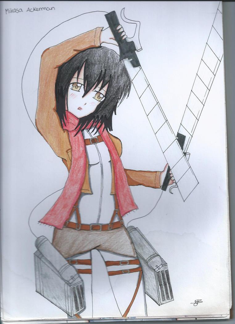 Mikasa Ackerman by Yanako-Chan