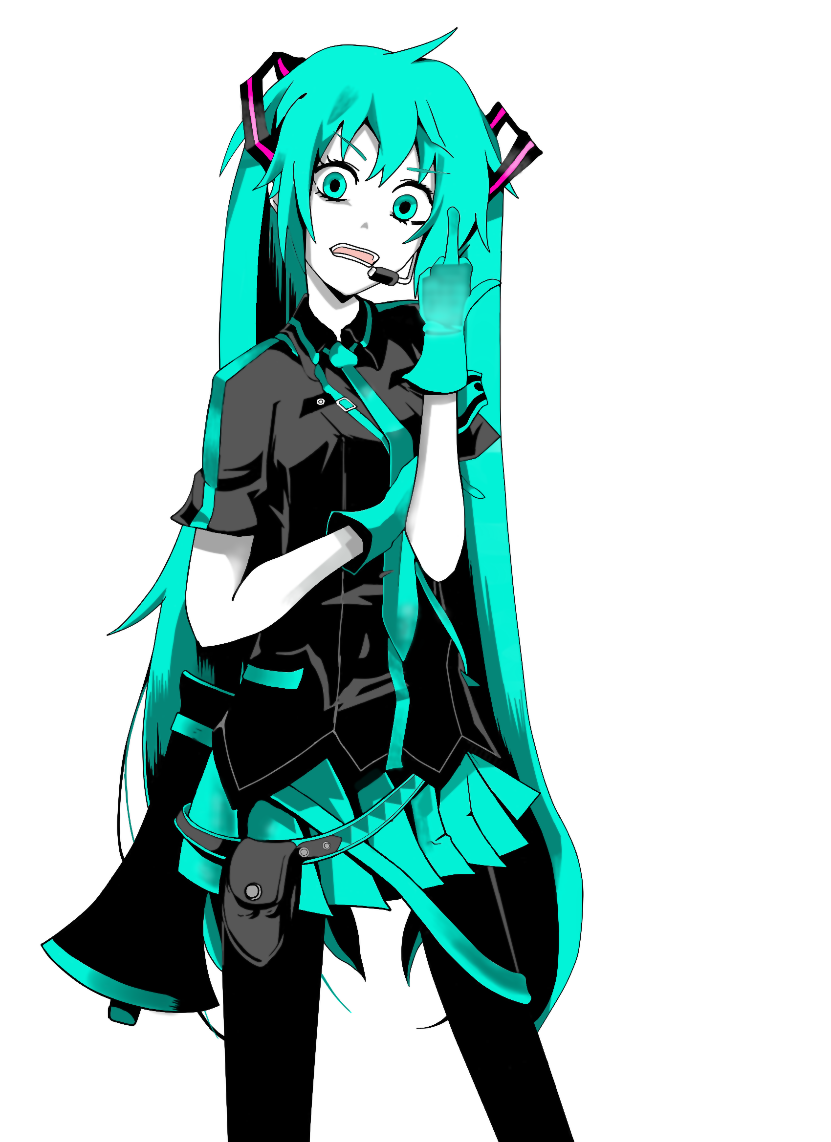 Miku Hatsune Love Is War By Rashek69 On Deviantart