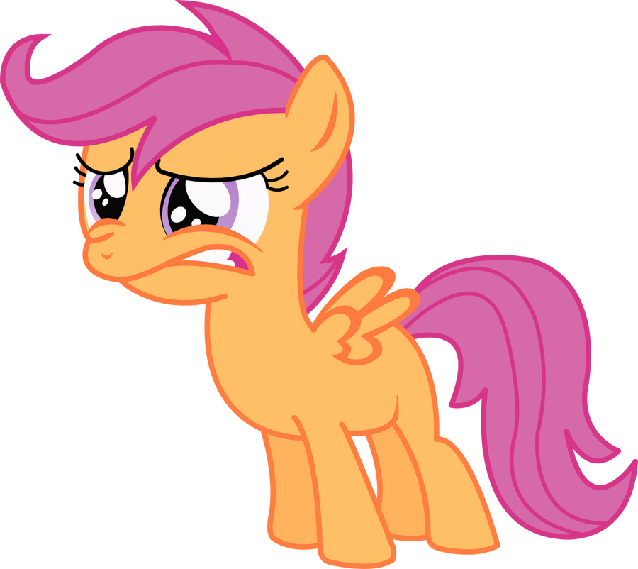 Scootaloo do not want ...
