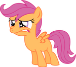 Scootaloo do not want Vector