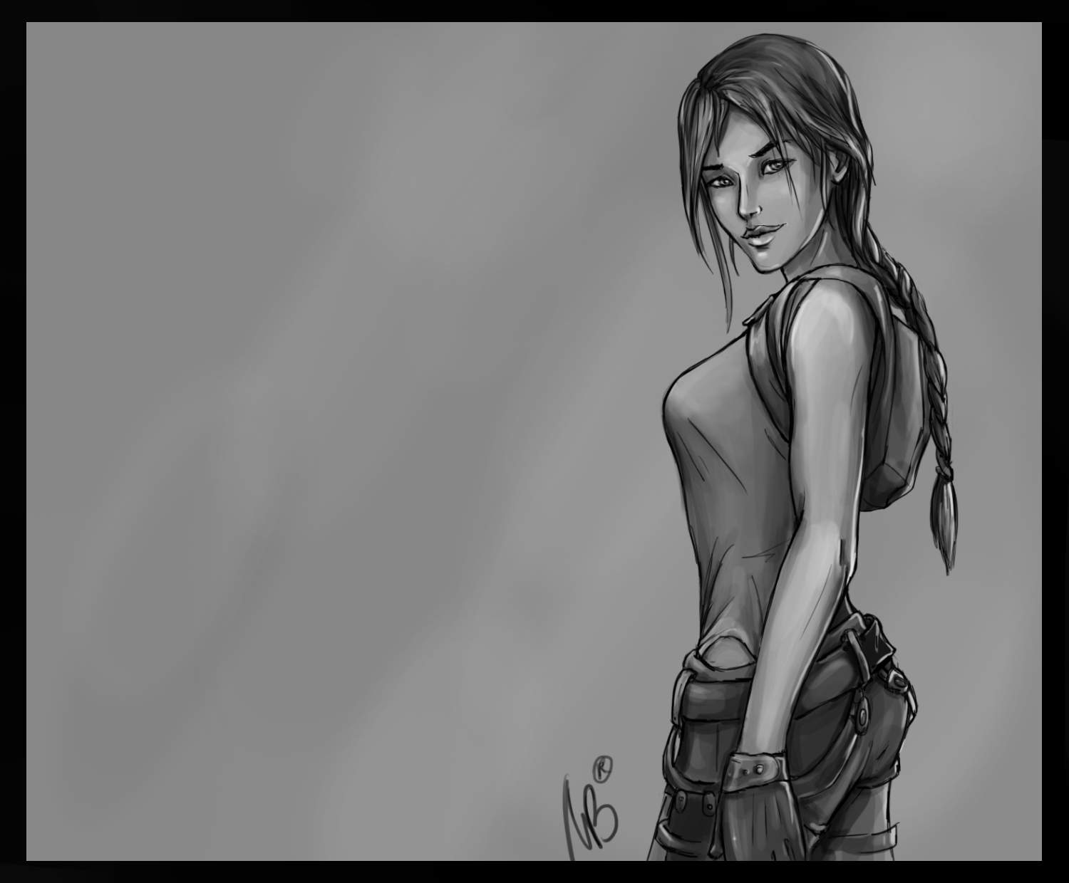 lady Croft by YessPleasse