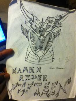 Kamen Rider Fifteen (Sketch)