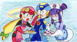 Roll,rockman and meddie