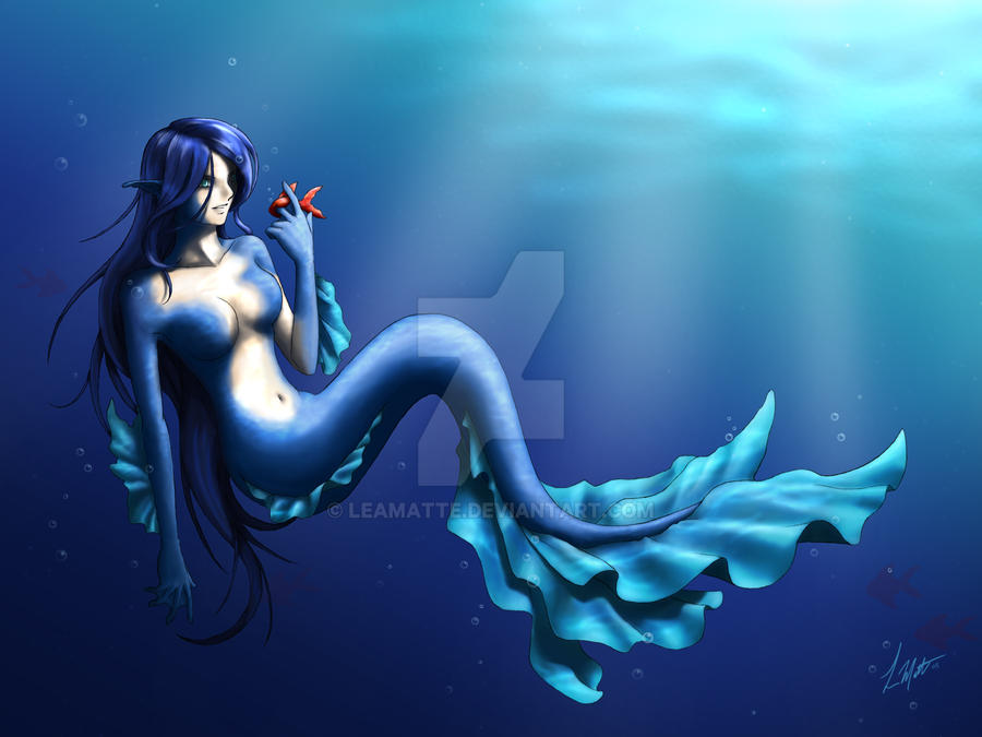 Mermaid by leamatte