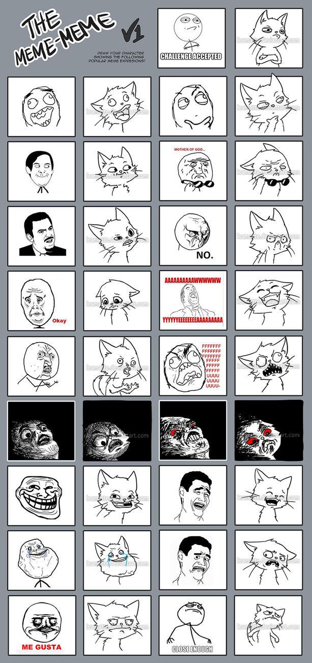the meme-meme by leamatte
