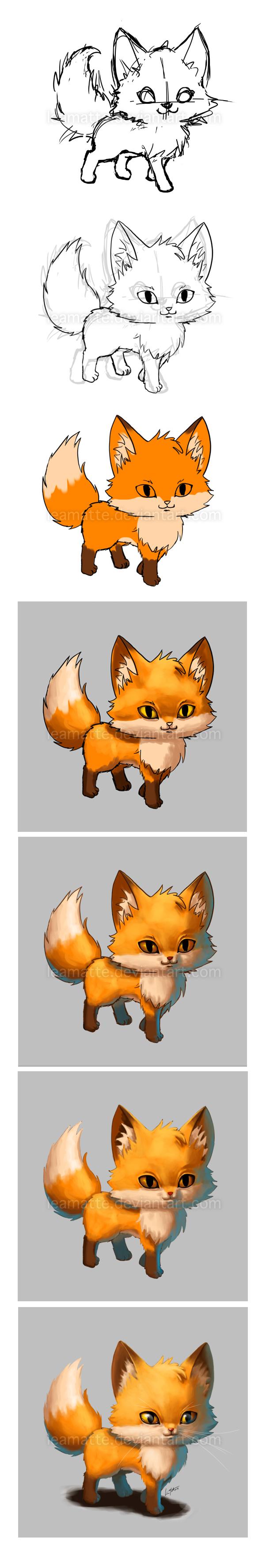 Fox_making of by leamatte
