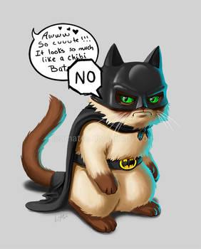 Bat Grumpy Cat