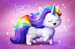 Proud unicorn