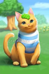 Animal Crossing Cat