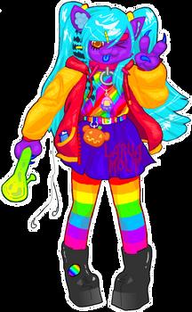 [$35] Rainbow Bong Cat