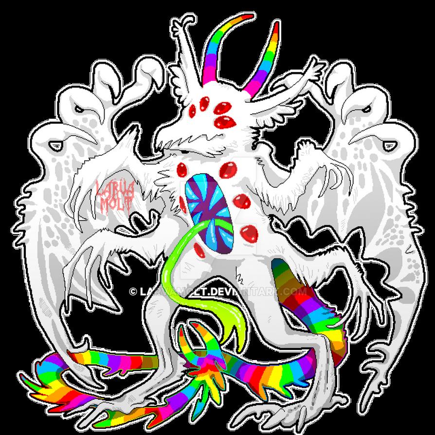 Pyuu the Rainbow Demon