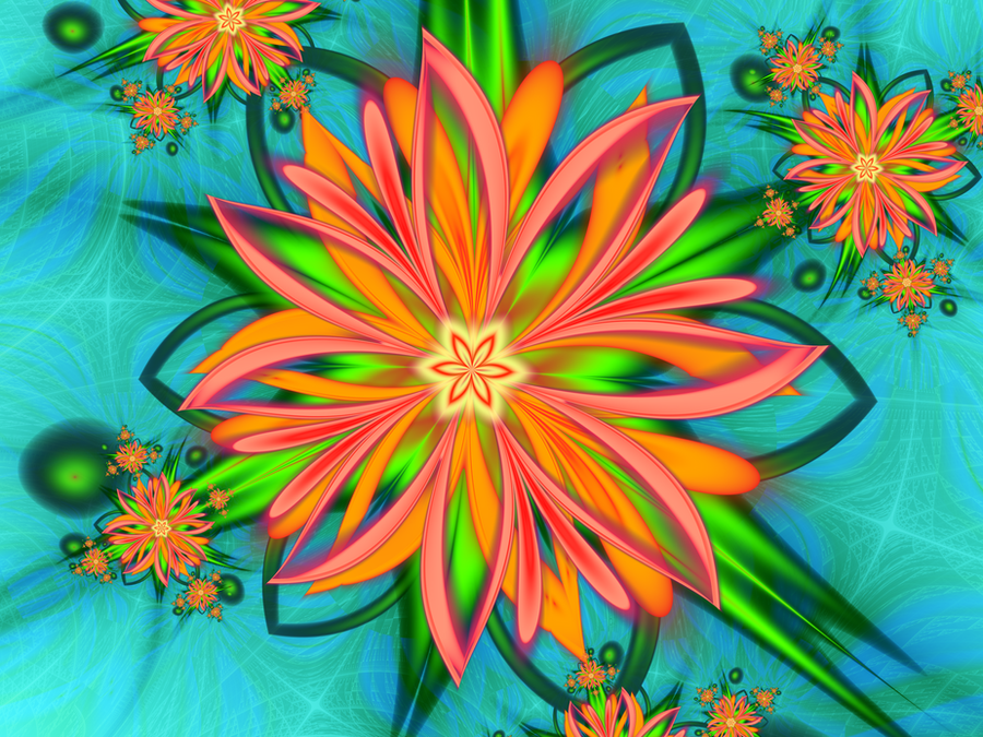 Flower whispers 2 by Dee-Dee-Blue