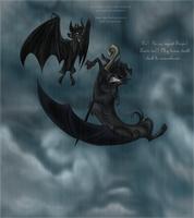 Rain rhymes with insane by JaylacineChiboa