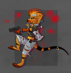 you insulted my rat, prepare to die by JaylacineChiboa