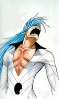 Grimmjow released colored by Raynehawk