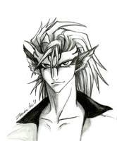 Grimmjow Released Sketch by Raynehawk