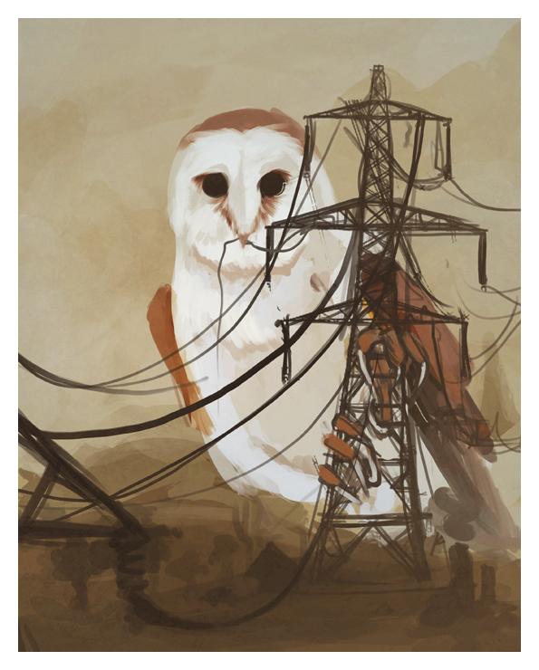 Owl Tower by fresh4u