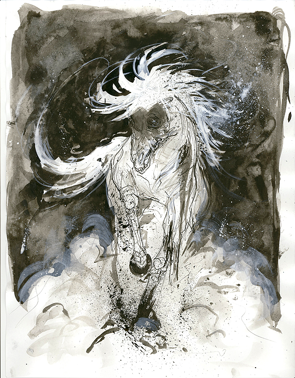 zombie horse WTTFFF by...
