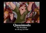 Quasimodo for President