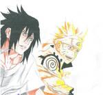 Naruto and Sasuke - A team once more!