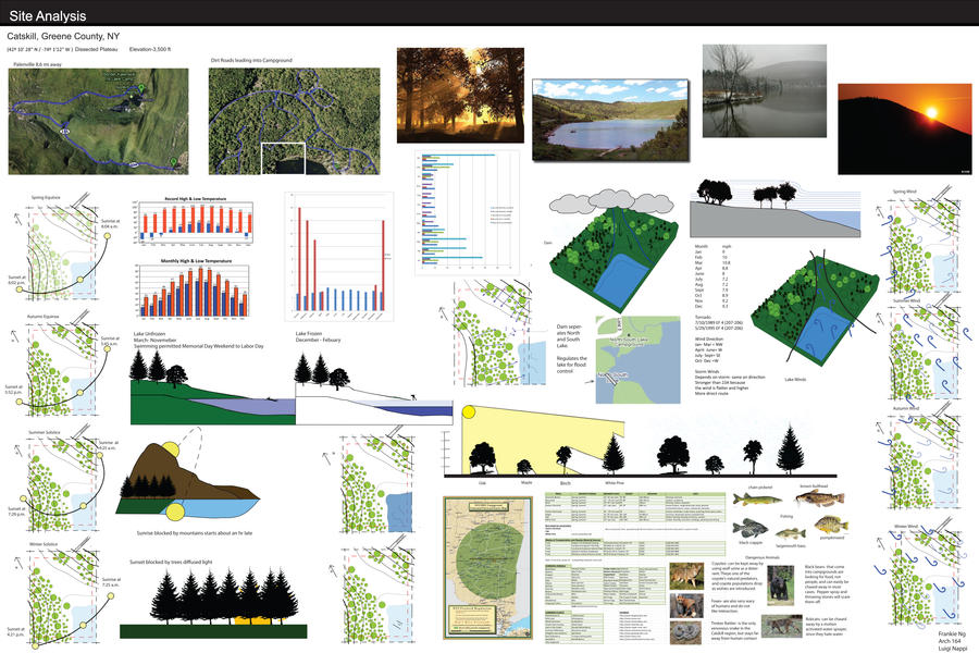 site analysis architecture thesis Analysis, and the project you wish to pursue in design the proposal should conclude with a masters design thesis in architecture author: matthew oliver.