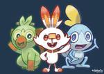 Pokemon Sword and Shield Buddies