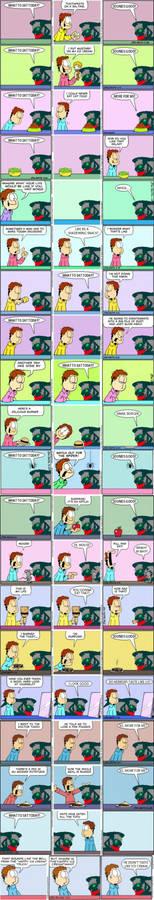 Garfield Minus Garfield Plus Kelvin (1-20)