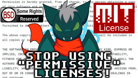 Permissive Licenses are NOT Software Freedom