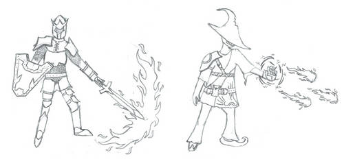 Character Concept For 2.5D