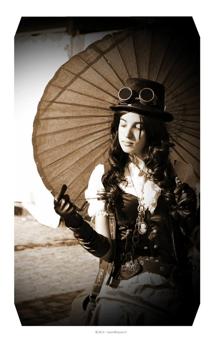 Steampunk Girl cosplay by Haldael