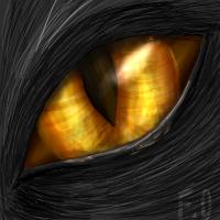Kohaku's eye by Forumsdackel