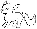 YHC/Lineart: Chibi Pixel Thing by Forumsdackel