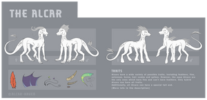 Species Sheet: Alcar [Closed Species] by Forumsdackel