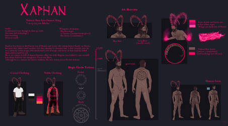 Reference Sheet - Xaphan by Forumsdackel