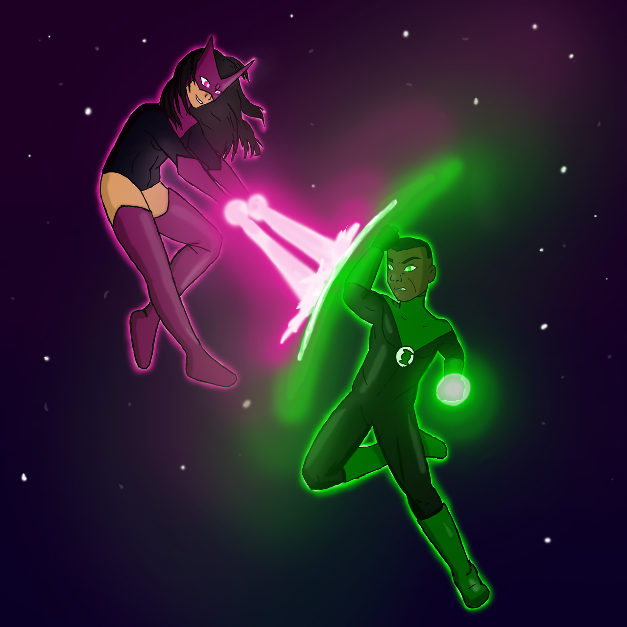 star sapphire and green lantern relationship