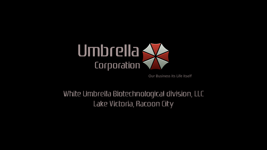 umbrella corp white by diras2010