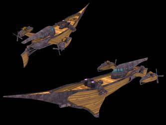 Airship: Sky Hunter by Poopgoblyn