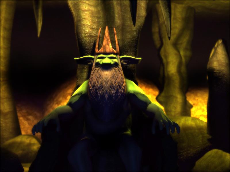 Troll King by Poopgoblyn