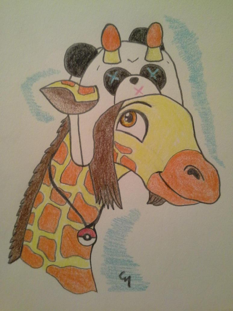 Moma Giraffe! by UmaKaru