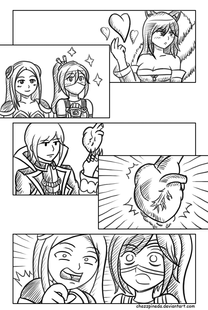 LOL Valentine - Heart Exchange by chazzpineda
