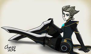 LoL - Camille Pinup by chazzpineda