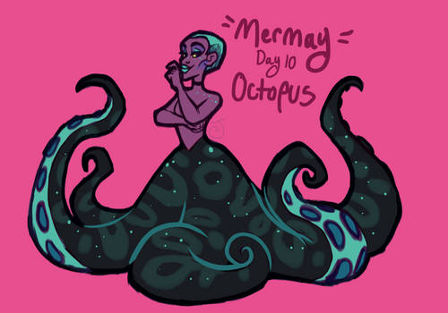 Mermay Day Ten - Octopus