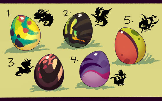 Mystery Dragon Egg Adopts (3/5) OPEN