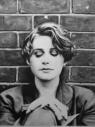 Elizabeth Fraser of Cocteau Twins (Charcoal) by Inglewood65