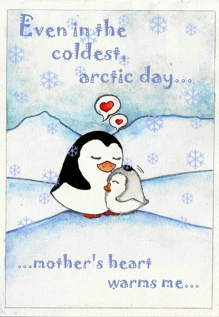 Frozen Love_Mother Day_card by Xanarachne