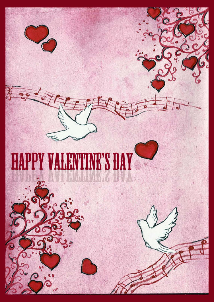Love_card_Happy_Valentine's_Day by Xanarachne