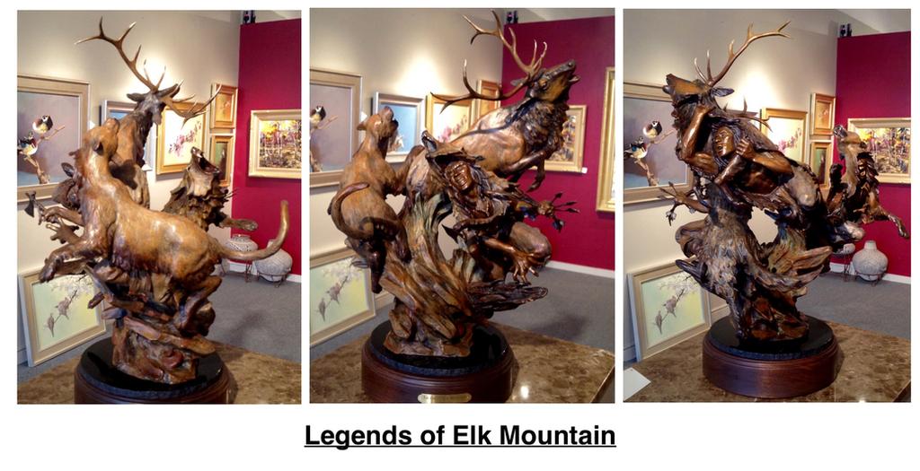 Legends of Elk Mountain by MasterEdi