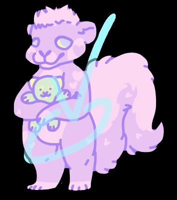 dreamy_pastel_skunk_by_externalenthusias